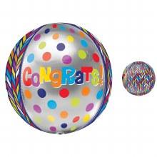 """Orbz 16"""" Congrats"""