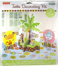 Fisher Price Baby Table Decor  Kit