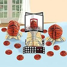 Basketball Table Decor Kit