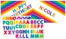 Rainbow Banner w/ Stickers