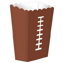 Football Snack Boxes Lg 3pk