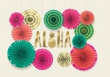 Aloha Fan Decor Kit
