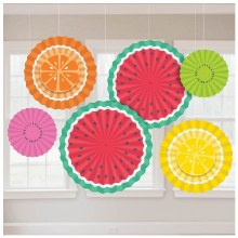 Tutti Frutti Fan Decor