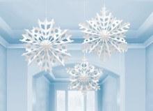 Snowflake Fan Decor Kit