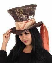 Mad Hatter Plush Hat