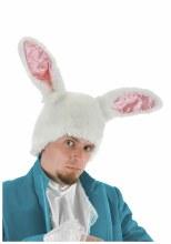 White Rabbit Plush Hat