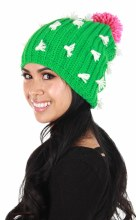 Hat Cactus Beanie Knit Slouch