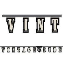 Vintage Dude Banner