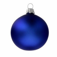 Ornament Blue Matte 10pc