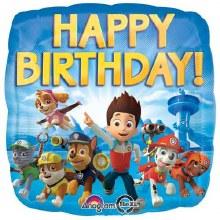 "Paw Patrol Happy Birthday ~ 18"""