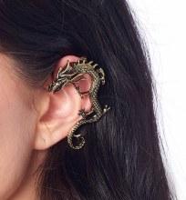 Ear Cuff Dragon Gold
