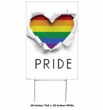 Yard Sign Pride