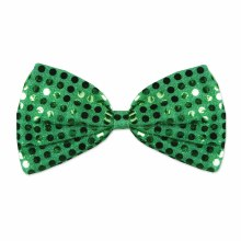 Bow Tie Green Glitz 'N Gleam