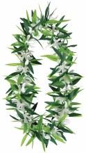 Lei Green Leaf w/ Flowers