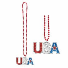 Necklace USA Bling