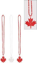 Canada Day Beads
