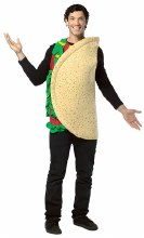 Taco Costume Adult Std