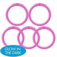 Glow Sticks 5ct Pink