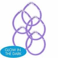 Glow Sticks 5ct. Purple