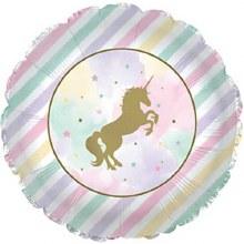 Blln Foil 17in Unicorn Sparkle