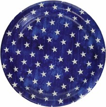 Patriotism Dessert Plates 8ct