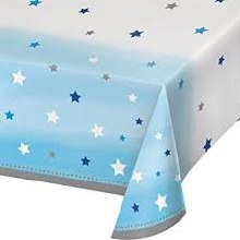 One Little Star Boy Plastic Tablecover