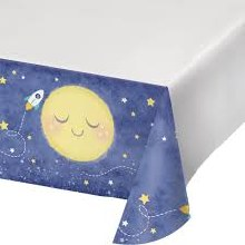 To the Moon Plastic Tablecover