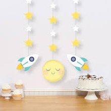 To the Moon Hanging Cutouts