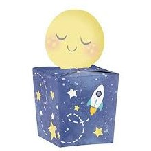 To the Moon Mini Favor Boxes 8ct