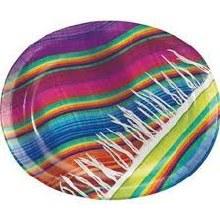 Serape Oval Platter 8ct