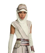 Rey Mask & Hood Set Adult