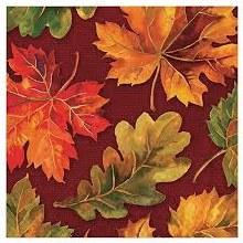 Fall Flourish Lunch Napkins