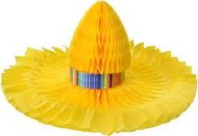 Sombrero Honeycomb Centerpiece