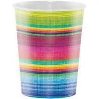 Serape Plastic 16oz Cups 8pk