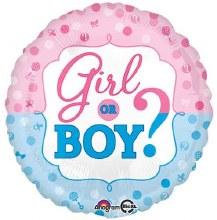 "Girl Or Boy Gender Reveal ~ 18"""