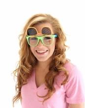 Glasses Flip Neon