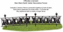 Fence Darth Vader 2pc
