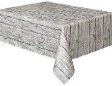 White Wood Tablecover