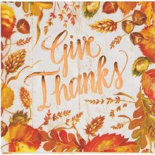 Lunch Napkin Give Thanks