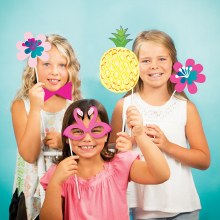 Pineapple Friends Photo Props
