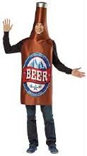 Beer Bottle Adult Standard Size