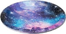 Galaxy Party 9in Plates 8ct