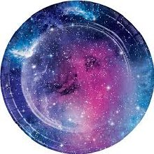 Galaxy Party 7in Plates 8ct