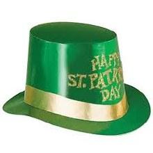 Top Hat St Pats Glitter