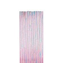Straws Paper Iridescent 12ct