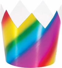 Crowns Rainbow Foil 8pk