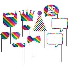 Photo Props Rainbow Pride