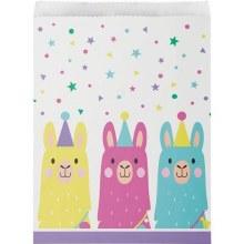 Llama Party Treat Bags