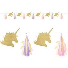Unicorn Sparkle Garland Banner 1pc