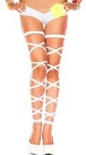 Leg Wrap Elastic White